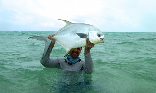 Cuba, Cayo Cruz, Avalon, pêche du permit et du tarpon, Jean-Baptiste Vidal guide de pêche à la mouche en Bretagne