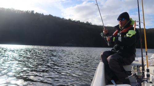 pêche du sandre,pêche en verticale,sandre en verticale,sandre au leurre,lac de guerlédan,sandre en bretagne,peche du sandre au leurre,enjoy fishing,jean-baptiste vidal moniteur-guide de pêche