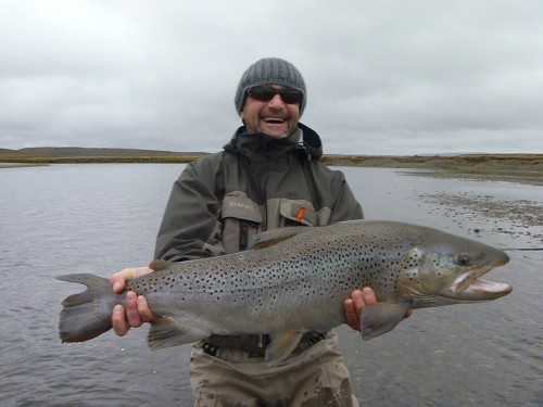 truite de mer, rio grande, argentine, Nervous Waters, peche a la mouche, sea trout, Rio Grande, Argentina, fly fishing, enjoy fishing