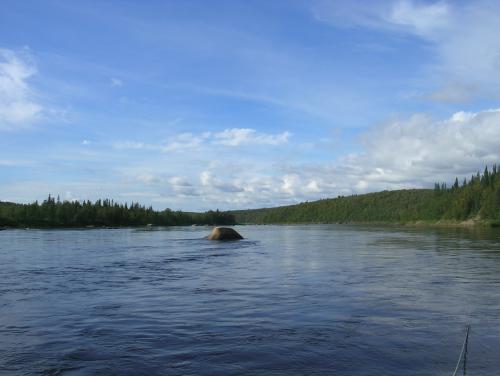 histoire de pêche, gros saumon à la mouche, gros saumon en sèche, saumon 19 livres en sèche, saumon de la Ponoi à la mouche en sèche, gros saumon, jean-baptiste vidal Moniteur-Guide de pêche, Enjoy Fishing