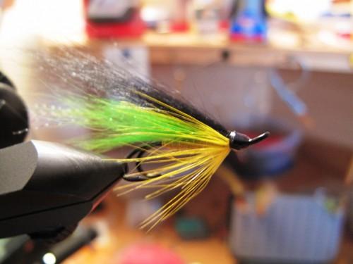 saumon, pêche a la mouche, salmo salar, Yokanga, Penisule de Kola, Russie, Fly Fish Yokanga