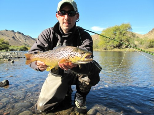 Collon Cura, Allumine, Malleo, Patagonie du Nord, pêche a la mouche, truite fario, truite arc en ciel, Patagonia, enjoyfishing