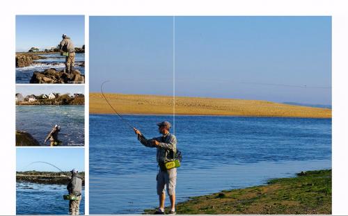 bar à la mouche,peche du bar,bar à vue,bar en estuaire,gros bars à la mouche,jean-baptiste vidal guide de pêche,enjoy fishing