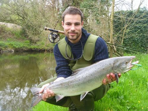 saumon à la mouche en Bretagne, Elorn, Tristan Audrezet, Pêche à la mouche, saumon, bretagne