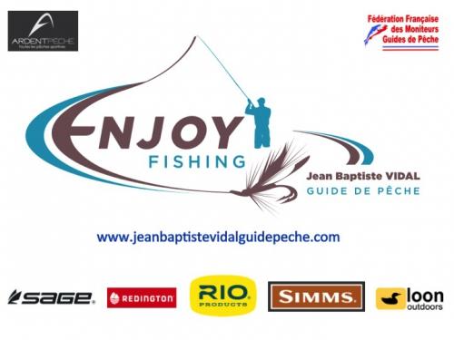 Jean-baptiste vidal guide de peche à la mouche, Ardent Pêche, Salon de la mouche artificielle, peche a la mouche, Enjoy Fishing