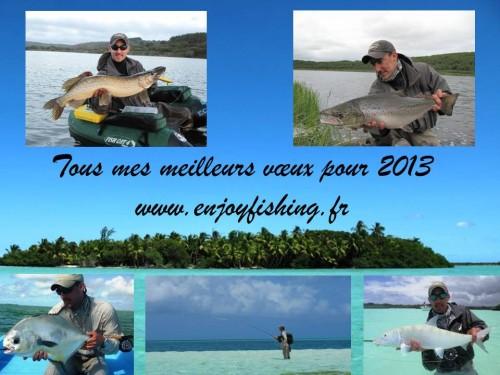 voeux 2013, voyages, pêche à la mouche, Enjoy Fishing