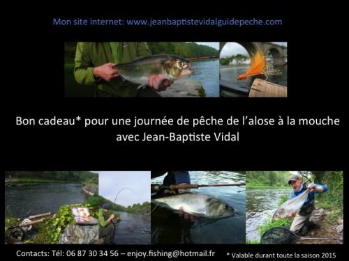 pêche de l'alose à la mouche en Bretagne, pêche des migrateurs en Bretagne, bon cadeau pêche, Jean-Baptiste Vidal guide de pêche à la mouche en Bretagne