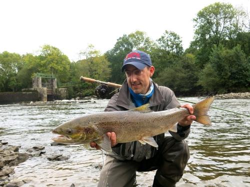 Bilan de la saison saumon en bretagne, saumon à la mouche, saumon en Bretagne, bilan de la saison migrateur, alose, saumon, truite de mer, Enjoy Fishing, Jean Baptiste Vidal