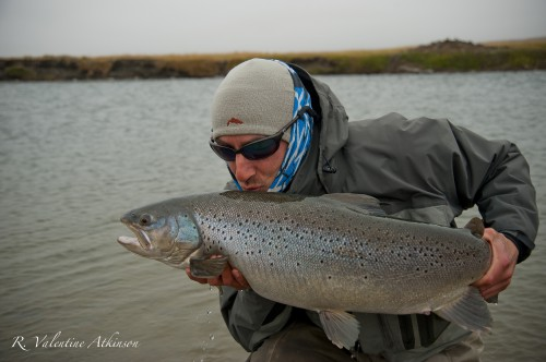 Val Atkinson, Pêche Mouche N°100, Rio grande, Kau tapen lodge, Nervous Waters, Enjoy Fishing