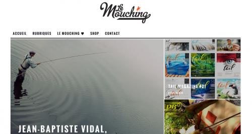 Le Mouching, Enjoy Fishing sur le Mouching, clin d'oeil sur Mouching sur mes activités de guide de pêche en Bretagne
