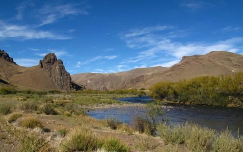 Collon Cura, Patagonie du Nord, pêche a la mouche, truite fario, truite arc en ciel, Patagonia, enjoyfishing