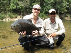 tsimane lodge, dorado, bolivie, pacu, pêche a la mouche, jungle bolivienne, untamed angling, enjoyfishing