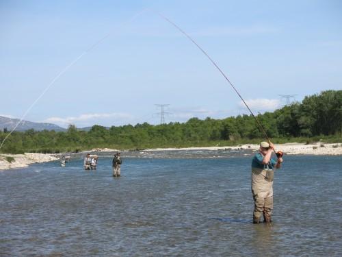 stage spey cast,pêche et horizons,spey casting,cours de lancer,enjoy fishing,jean-baptiste vidal, mail Orion, lancer canne à deux mains