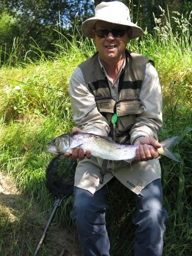 Peche des migrateurs, aloses à la mouche, saumons en Bretagne, Enjoy Fishing, Jean-Baptiste Vidal guide de pêche à la mouche