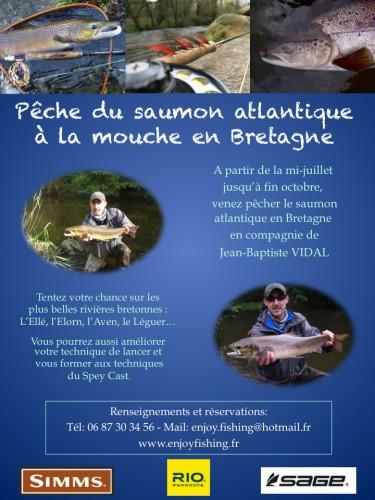 pêche du saumon,saumon atlantique,saumon à la mouche,pêche en bretagne,pêche des castillons,rivière ellé,elorn,aven,jean-baptiste vidal,enjoy fishing