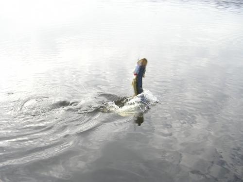 Lac Saint Michel, Réservoir St Michel, Lac de Brennilis, pêche de la truite à la mouche sur le Réservoir St Michel, Jean-Baptiste Vidal guide de pêche à la mouche en Bretagne